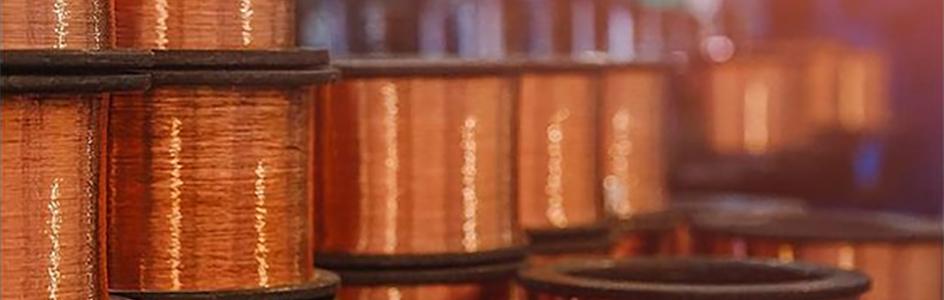 bobinas alambre de cobre