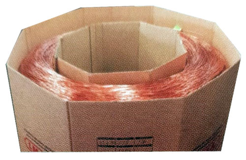 Alambre de cobre para máquinas soldadoras de envases de hojalata