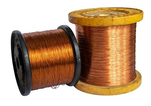 Alambres de cobre esmaltados 180°